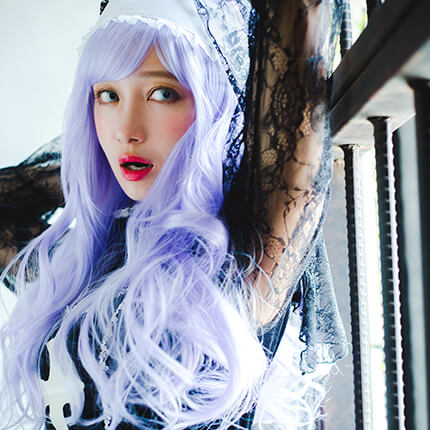Sister×Party Color ゆるウェイブのモデル写真