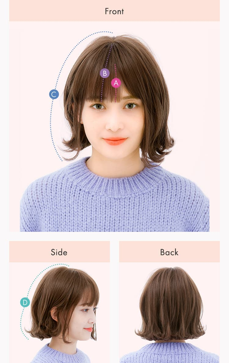 Front、Side、Backからの写真